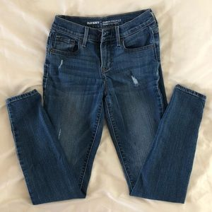 Curvy/ Mid Rise Skinny Jeans Old Navy